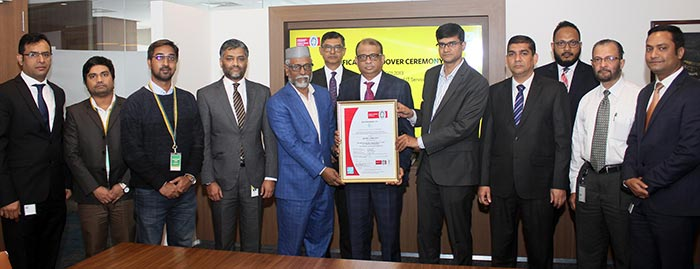 EBL gets ISO 27001:2013 certificate