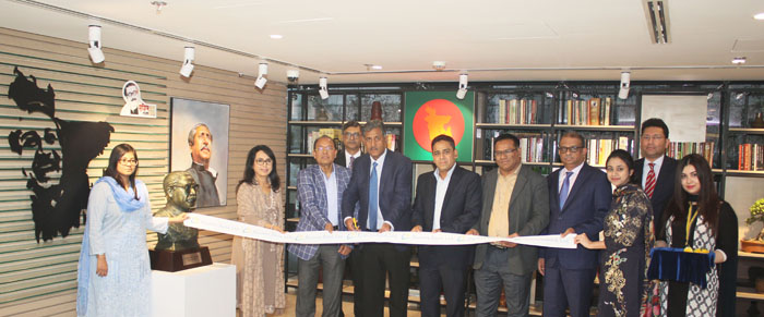 EBL inaugurates Mujib Corner
